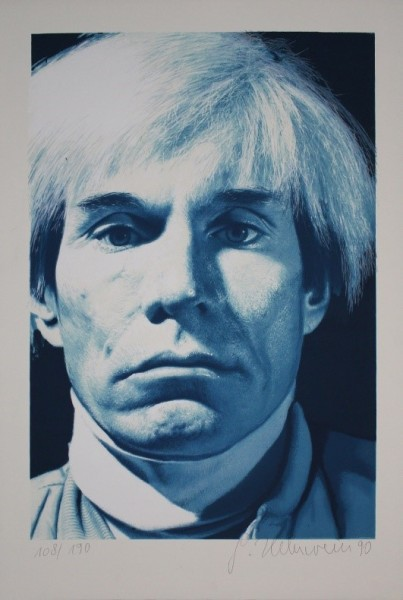 Andy Warhol - Color Lithograph