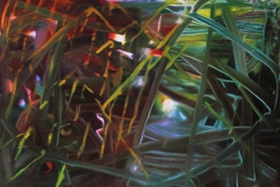 Abstraktes Gemälde 439 - Giclee on Paper Size: 16.8 × 25.0 on 23.0 × 31.2 inches - by Gerhard Richter