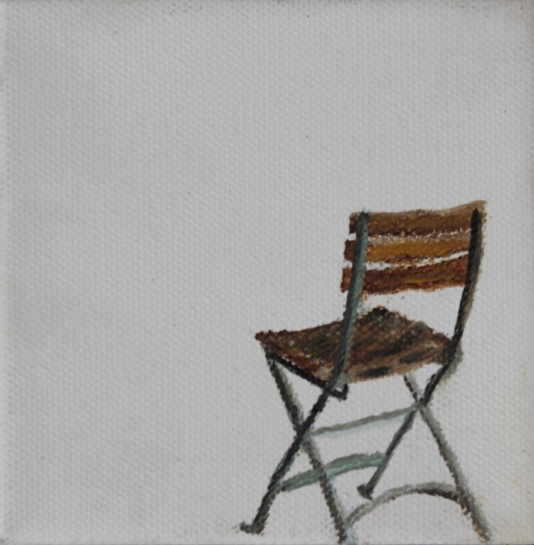French Folding Chair - Title : French Folding Chair