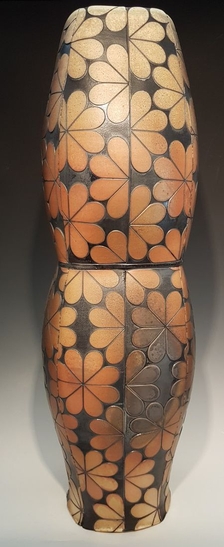 Flower Vase - Material: Wood-Fired Porcelain