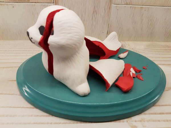 Do Not Use If Seal Is Broken - Porcelain
