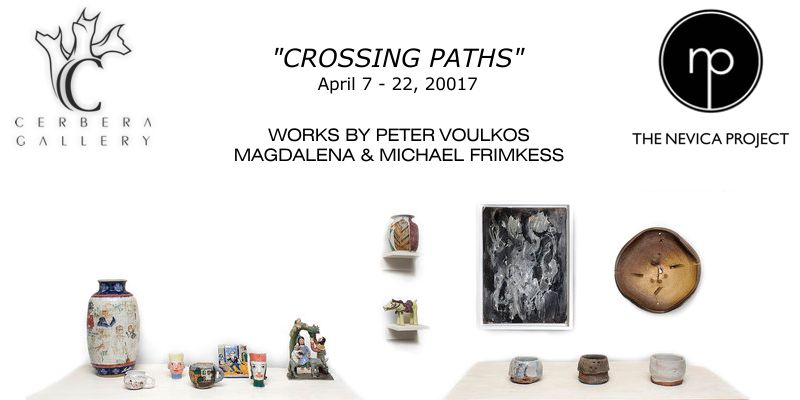 Crossing Paths - Magdalena & Michael Frimkess and Peter Voulkos