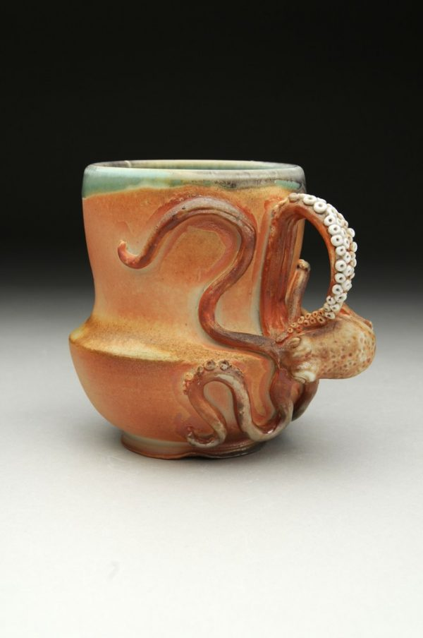 Wood Fired Mugs - Artist: Amy Young