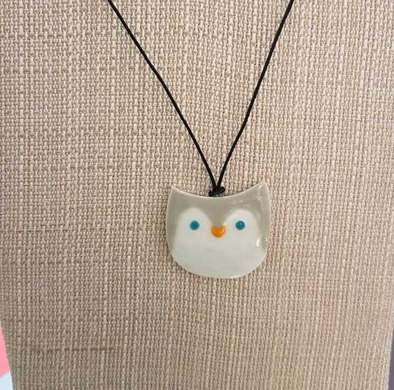 Owl Necklace - Title : Owl Necklace