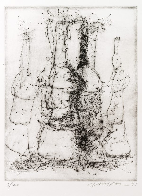 "Untitled Dry Point Etching CR 299-PR - ""Untitled Dry Point Etching CR 299-PR"""