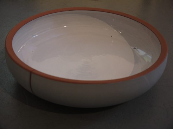 Large Grey Bowl - Terra Cotta