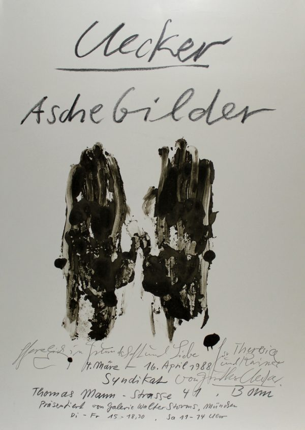 Aschebilder - Exhibition poster
