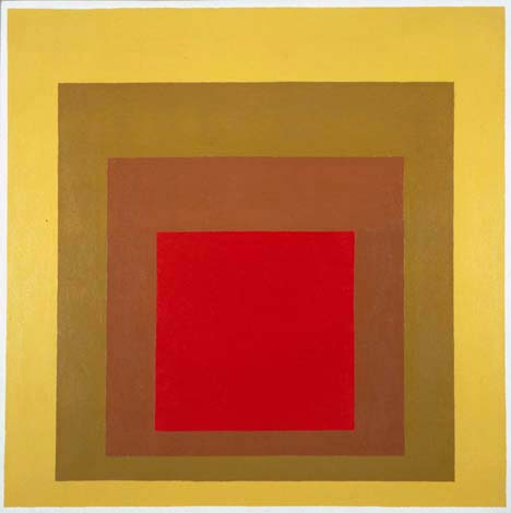 Homage to the Square 1967 Josef Albers American, born Germany 1888 Oil on fiberboard 30 3/4 x 30 3/4 inches