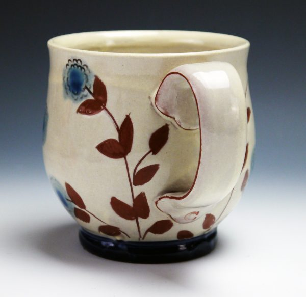 Vine Mug - Materials: Earthenware