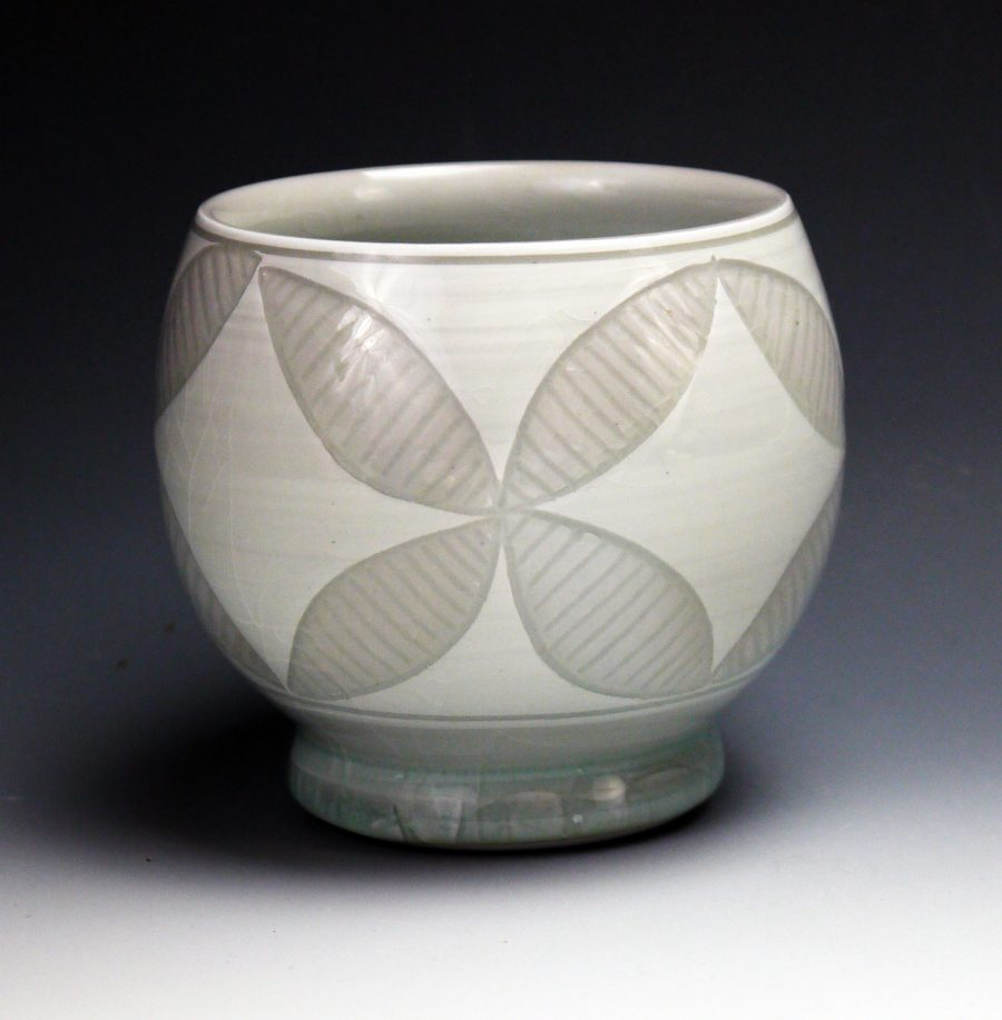 Sgraffito Petal Cup - Steven Young-Lee