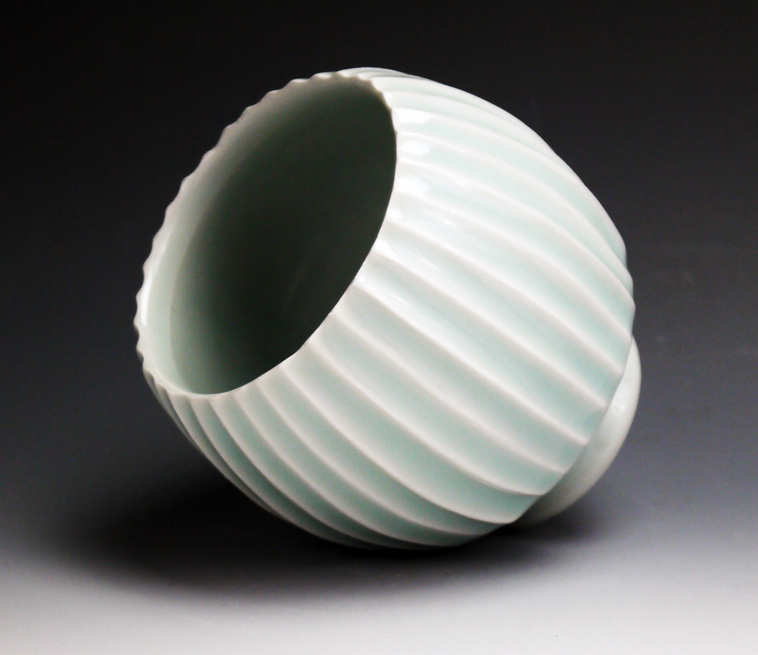 Quot Carved Celadon Cup Quot By Steven Young Lee Buy Online Or