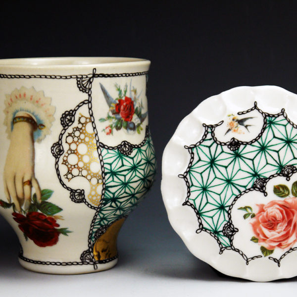 Melanie Sherman - Cup with Cookie Dish