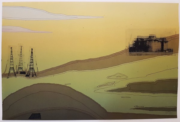 Landscape with Radio Towers