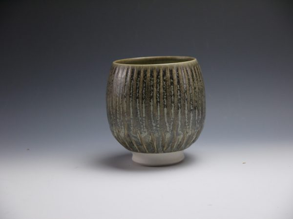 "Brown Speckled Yunomi - Title : ""Brown Speckled Yunomi"""