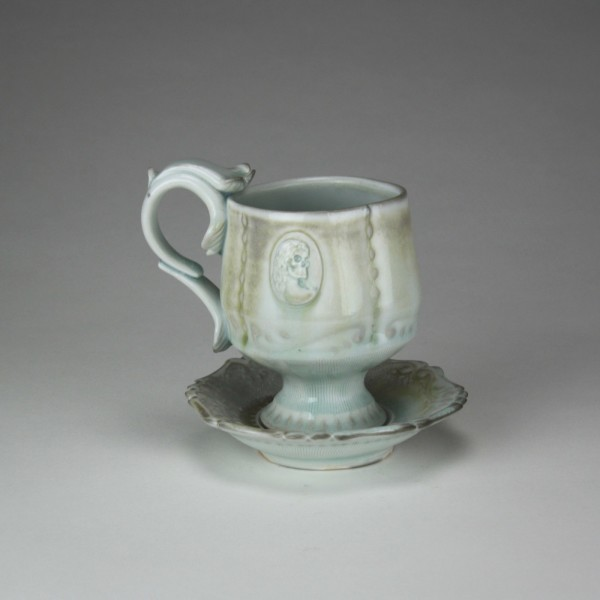 Lost Age Teacup and Saucer - Title : Lost Age Teacup and Saucer