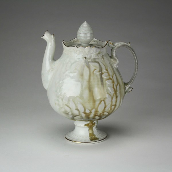 Victory of Nothing Teapot w/ Gold - Title : Victory of Nothing Teapot w/ Gold