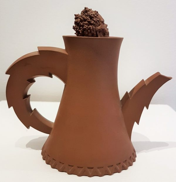 Cooling Tower Teapot #II - Title: Cooling Tower Teapot #II