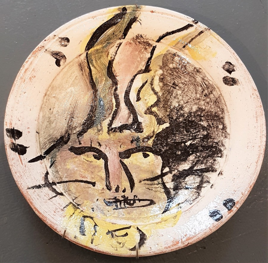 Plate - Plate - by Ron Meyers