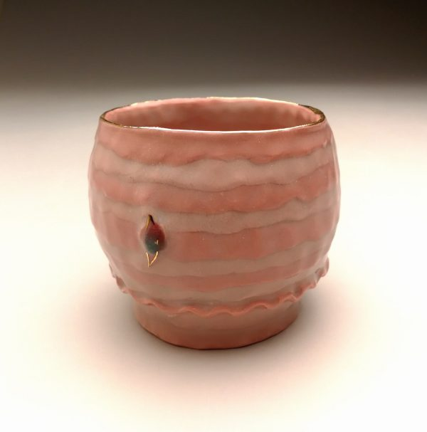 Sugar coated teabowl - Pink S - Title : Sugar coated teabowl - Pink S