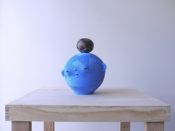 Neo-Jomon: Blue Head (2 Pieces) - Title : Neo-Jomon: Blue Head (2 Pieces)