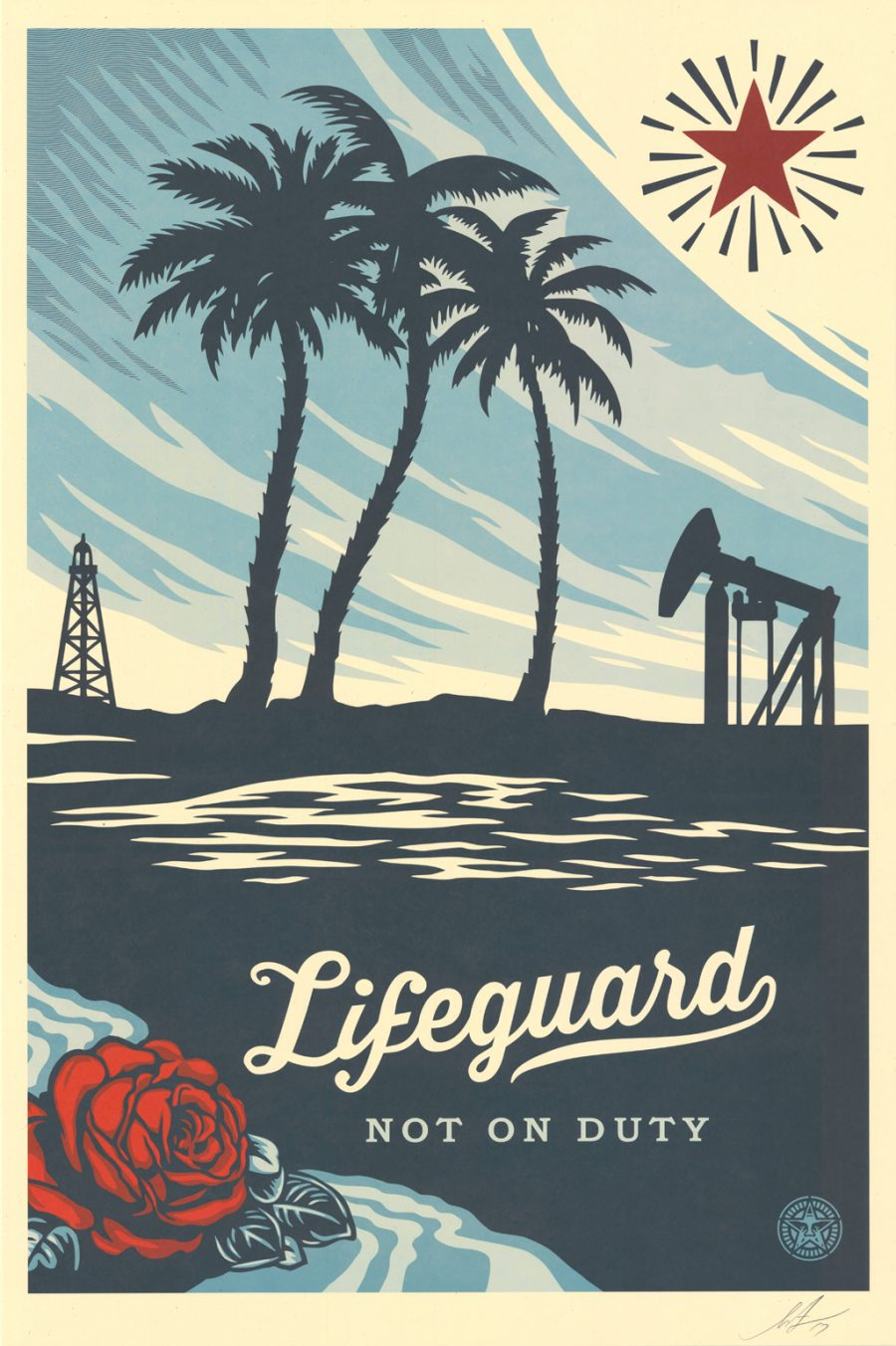 Lifeguard not on duty - Lifeguard not on duty