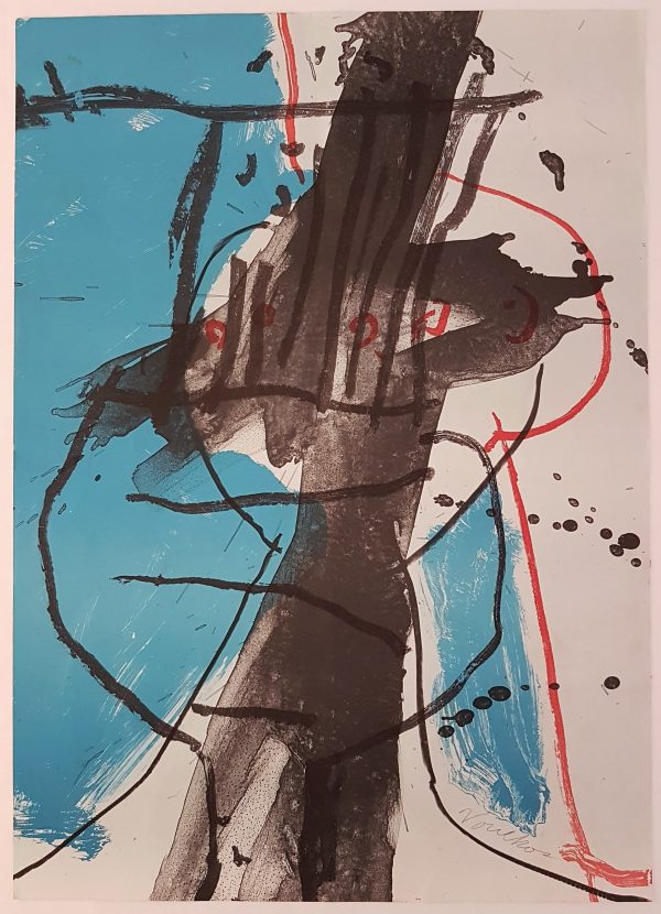 Untitled (Color Lithograph) - Peter Voulkos