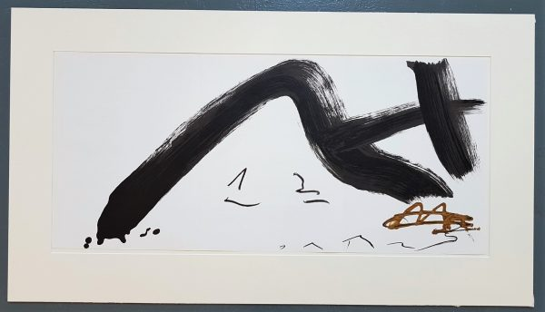 Gestural Abstract Composition - Antoni Tapies