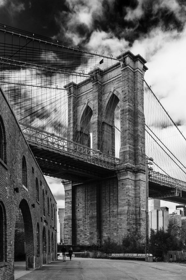 Brooklyn Bridge - Title: Brooklyn Bridge