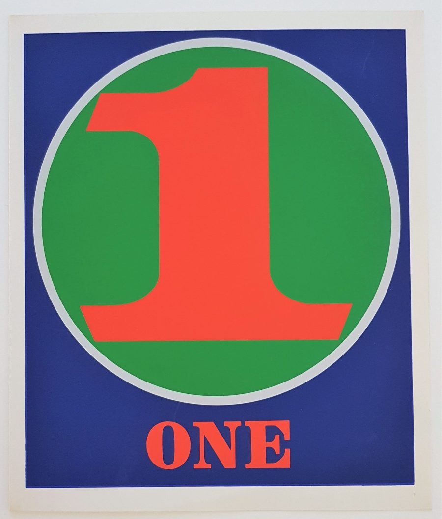 One - Robert Indiana