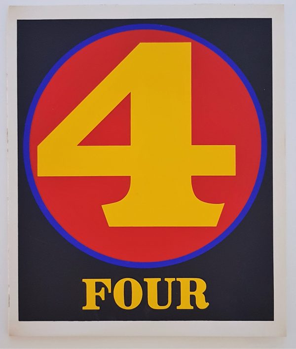 Four - Robert Indiana