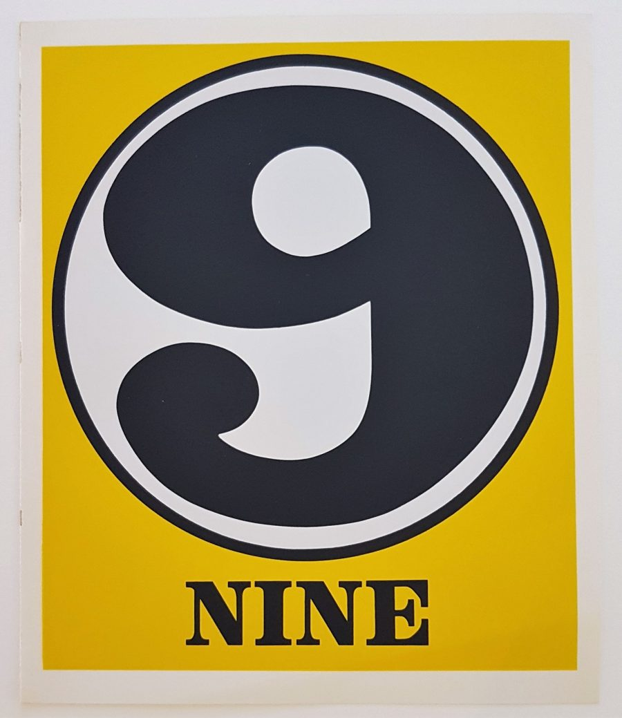 Nine - Robert Indiana