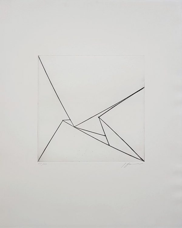 Untitled Geometric Abstraction - Erich Hauser
