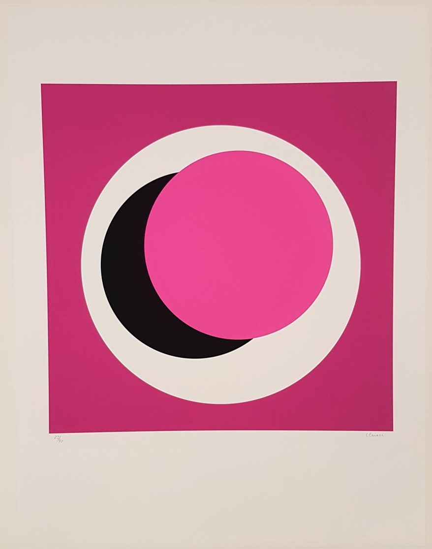 Light Pink Circle (Cercle rose pale) - Geneviève Claisse