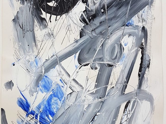 Gestural Abstract Composition - Joachim Czichon