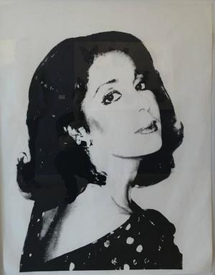 "Unknown Female - Jackie O"" - Artist: Andy Warhol"
