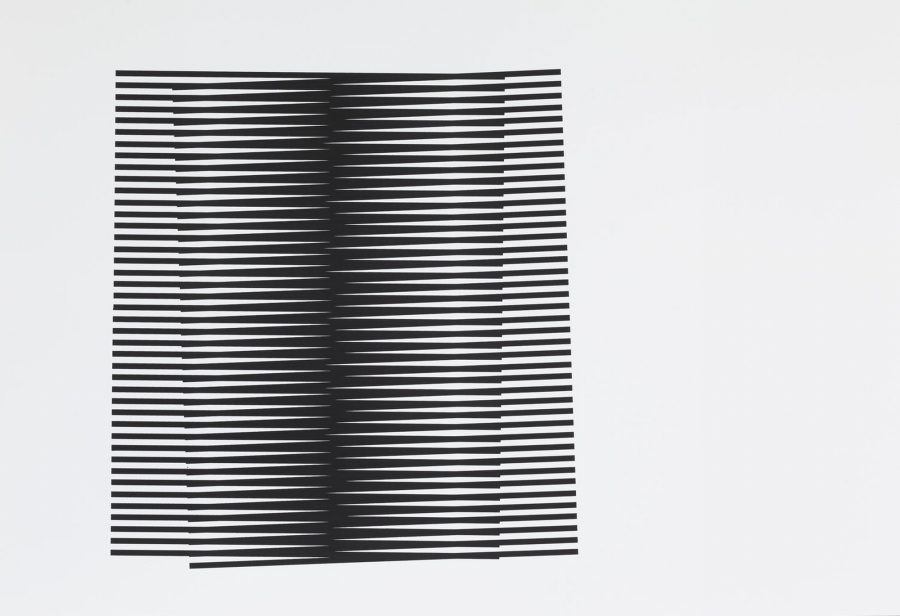 Untitled (Stripes Series II) - Leigh Suggs