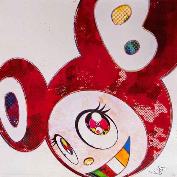 And Then x6 Vermillion - Takashi Murakami
