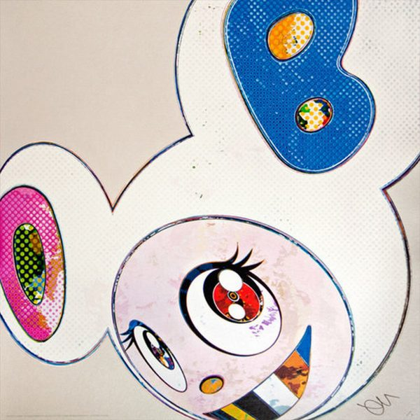 And Then x6 White - Takashi Murakami