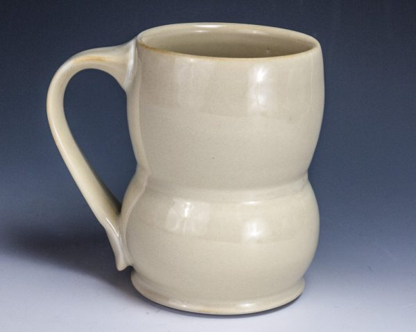 "Yellow Tall Mug - Size: 4.5"" x 4.75"" x 3"" - by Steven Young Lee"
