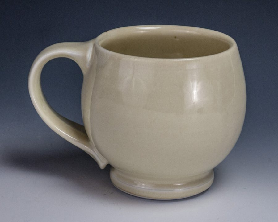 "Yellow Cup - Size: 3.75"" x 4.75"" x 3.5"" - by Steven Young Lee"