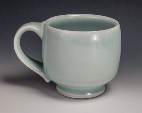 "Blue Mug - Size: 3.375"" x 5"" x 3.5"" - by Steven Young Lee"