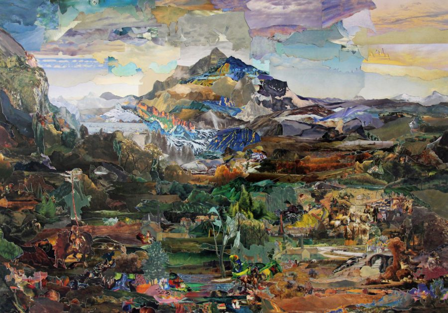 Painting some Mountains - Hendrikje Kuehne and Beat Klein