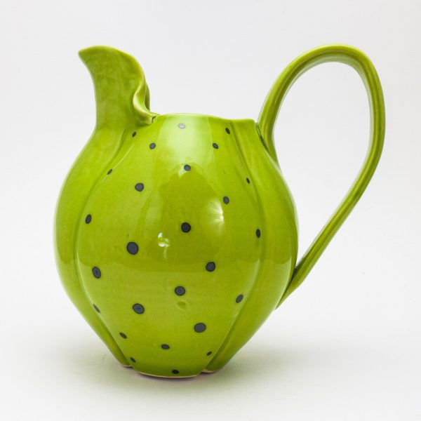 Green polka-dot Pitcher - Theresa Robinson