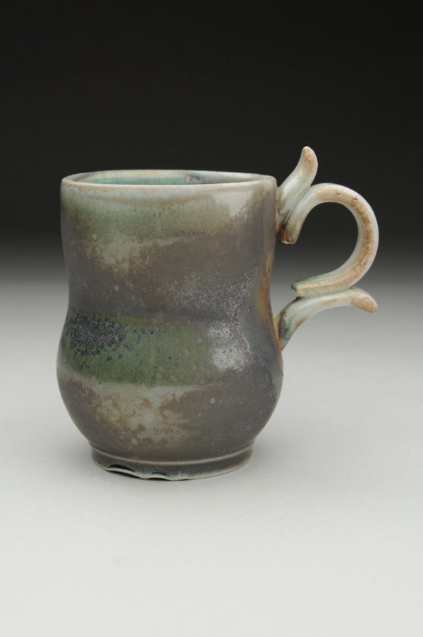Madness Wood Fired Mug - Title : Madness Wood Fired Mug