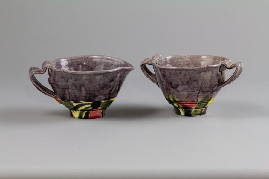 Sugar Bowl and Creamer Set - Betty Woodman (1930-2018)