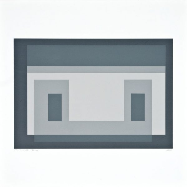 Variant III (from Ten Variants) - Josef Albers