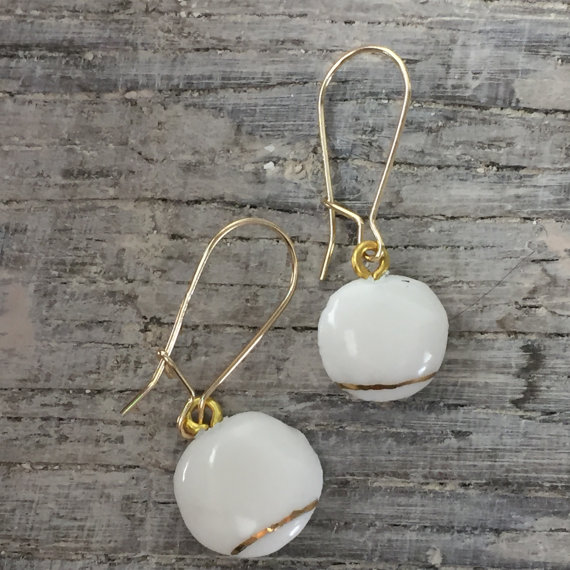Porcelain Earrings