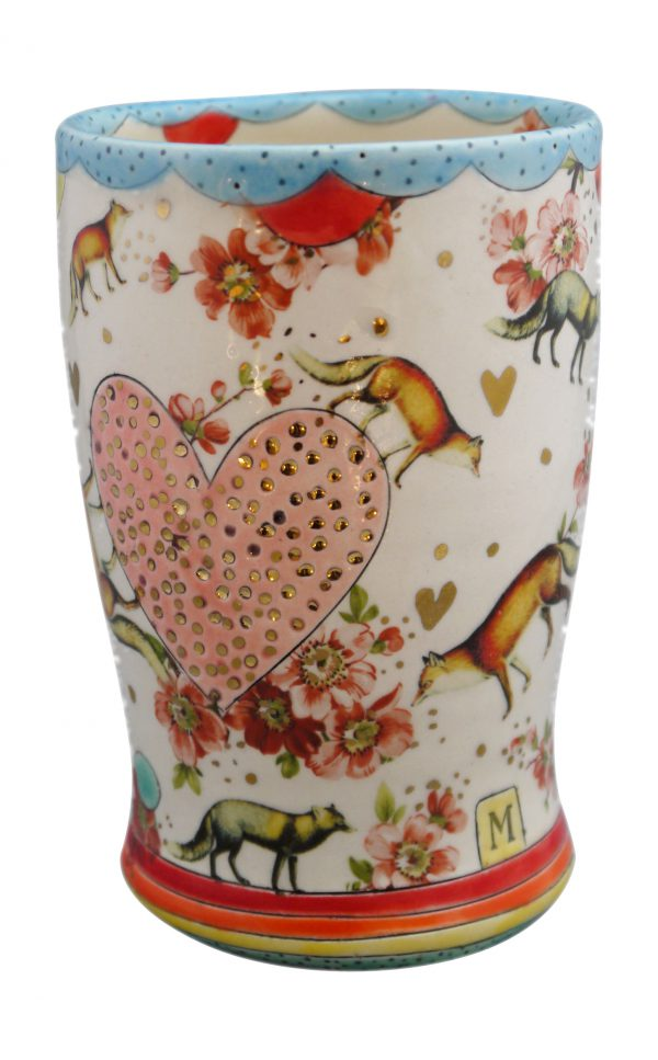 Fox Trot Tumbler - Cone 6 Clay