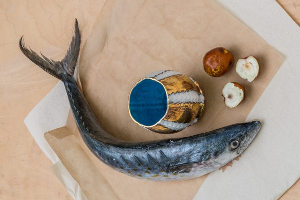 Memento Mori - Cup with Fish