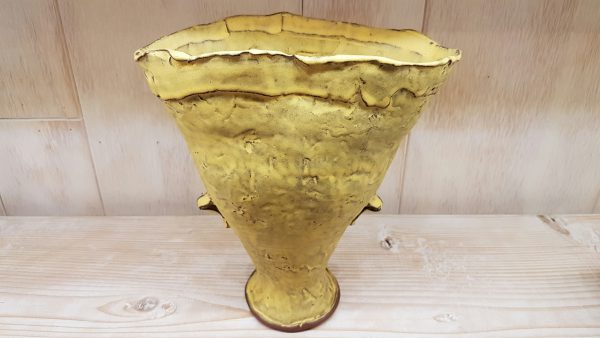 "Vase - Medium-size Vase. Size: 8.5"" x 3"" x 8"". - by Sunshine Cobb"